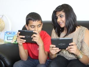 The Geeko Junior and Geeko Premium tablets.