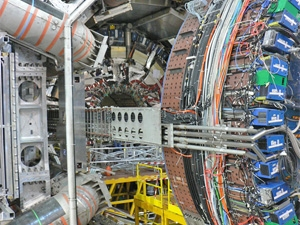 A view of the heart of the Atlas detector. ATLAS Experiment © 2013 CERN.