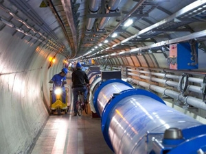 The Large Hadron Collider is the world's largest and most powerful particle accelerator. (Photograph: CERN)