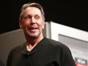 Oracle is prepared to compete with Amazon.com on price, says Oracle founder and executive chairman Larry Ellison.