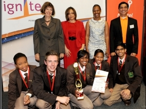 IgniteIT - Third Place (Willowmoore High School).