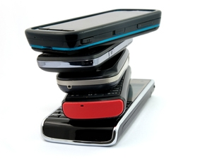 Feature phones contributed greatly to total mobile phone shipments to Africa last year.