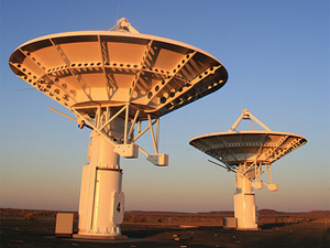 The funding made available by partners for the Square Kilometre Array design phase is €120 million.