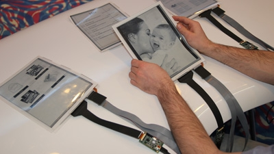 PaperTab made its debut at the Consumer Electronics Show earlier this year.