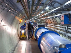 Local scientists will immediately start working on data from phase two of the Large Halogen Collider's output. (Photograph by CERN)