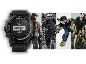 The Garmin fenix 2 multisport GPS watch is the ideal multisport athlete's training partner.