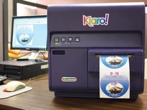 Bartrans introduces the kiaro desktop inkjet label for Circle printer labels