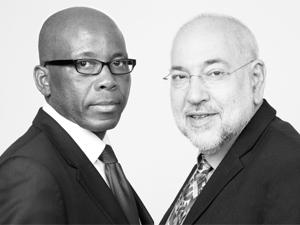 Mteto Nyati and Barry Dwolatzky.