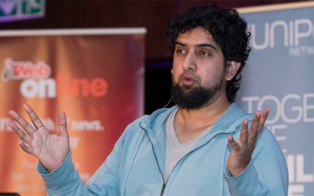 Haroon Meer, one of SA's internationally recognised security experts.