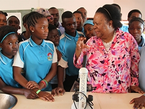 Science and technology minister Naledi Pandor has long urged young South Africans to pursue careers in science, technology, engineering and mathematics.