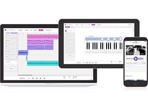 Soundtrap lets users finish work on a project and pick it up later on a different device.