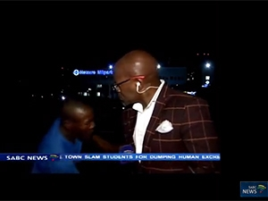 The top trending YouTube video in SA this year is of SABC journalist Vuyo Mvoko being mugged on camera.