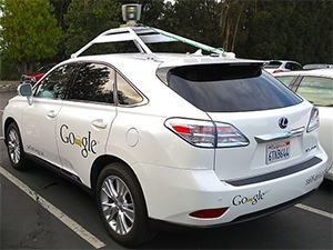 Google's self-driving cars have driven many thousands of kilometres to prove their viability. (Image by Steve Jurvetson)