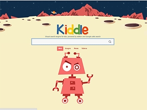 The new child-friendly visual search engine features results \