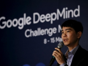 Lee Sedol, the world's top Go player, was beaten by Google's AlphaGo today in South Korea.