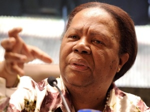 Science and technology minister Naledi Pandor is one of only two Cabinet ministers to score a B.