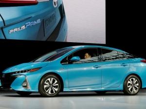 A Toyota Prius Prime.