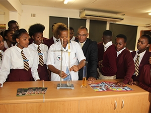 UWC has built 32 science centres in Western Cape schools to support learners in science-related projects.