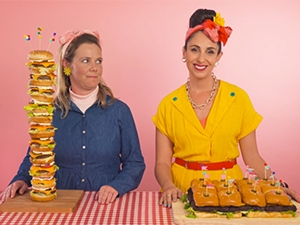 Local YouTube personality Suzelle's ultimate burger video got over 400 000 views in a month.