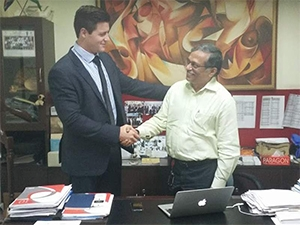 South African mobile payment solutions company Zazoo cements its growth plans with a new business partnership in India.