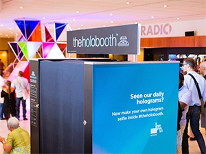 The booth was developed with the intention of making it available for people and companies to use at their own events.