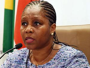 Communications minister Ayanda Dlodlo. (Photo source: GCIS)