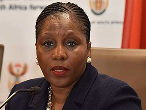 Communications minister Ayanda Dlodlo. (Photo source: GCIS)