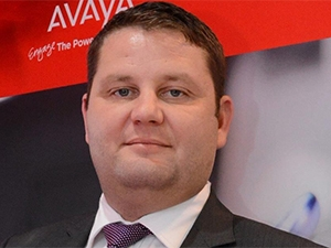 Danny Drew, MD of Avaya SA.