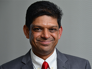 Darshan Lakha, Vodacom Group's chief technology security officer.