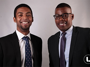 Founders of LinkdPro and Octopus Eugene de Beer and Scelo Makhathini.
