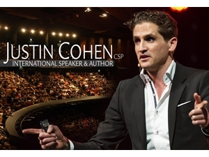 Justin Cohen, international speaker and author.