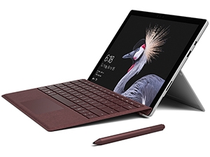 The Microsoft Surface Pro.
