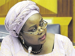 Energy minister Mmamoloko Kubayi.