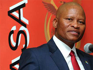 Mogoeng Mogoeng, chief justice of the Constitutional Court.