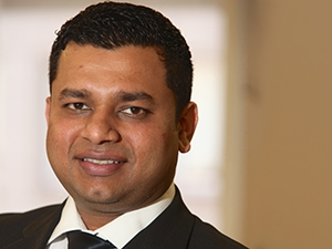 Sahil Mungar, head of marketing for FNB digital banking.