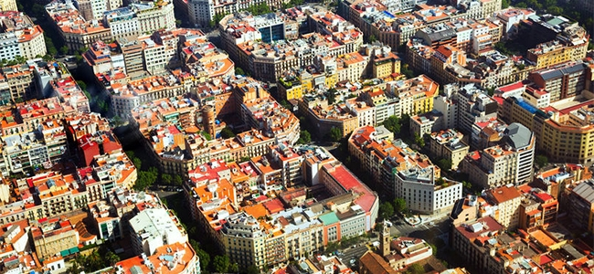Although built in the late 19th century, the Eixample district in Barcelona is an example of how smart cities of the future should be designed.