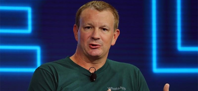 Brian Acton, co-founder of WhatsApp.