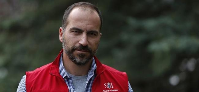 New Uber CEO Dara Khosrowshahi.