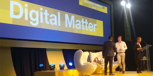 The Most Innovative Hardware award went to Digital Matter.