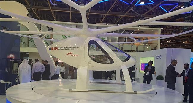 The autonomous air taxi.