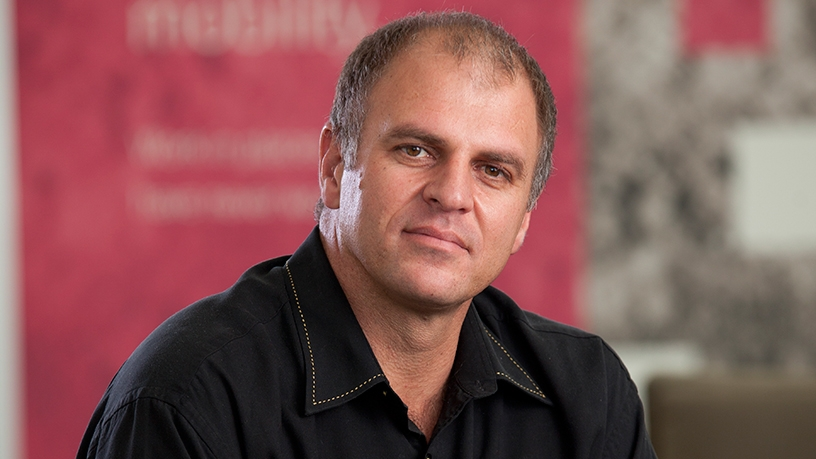 Gert Schoonbee MD of T-Systems SA.