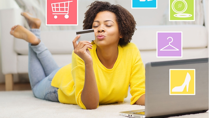 South African shoppers crowded online sites this past weekend.