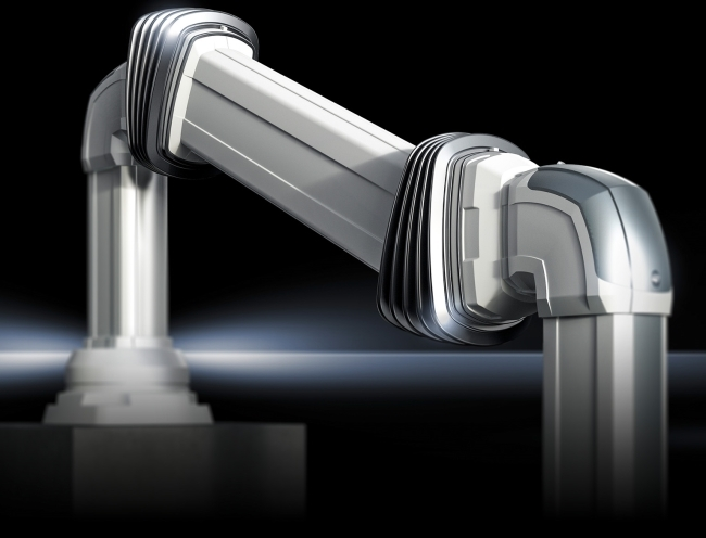 The height-adjustable support section for the Rittal CP  compass provides optimised machine ergonomics.