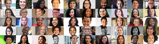 Some of the South African females recognised for their roles in the tech industry.
