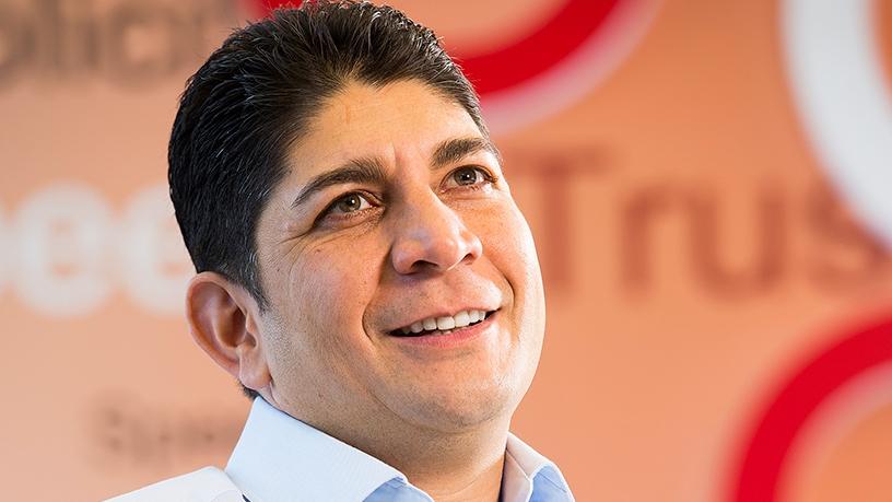 Shameel Joosub, Vodacom group CEO.