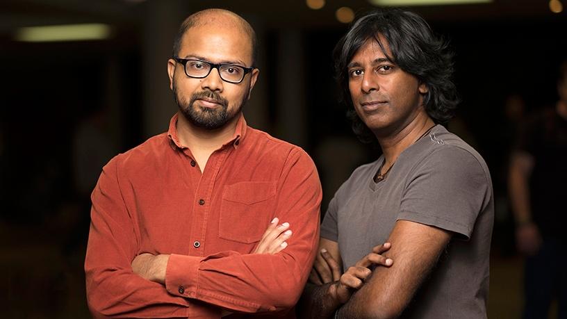 Tapsnapp, co-founders Vije Vijendranath and Jaiprakash Sewram.