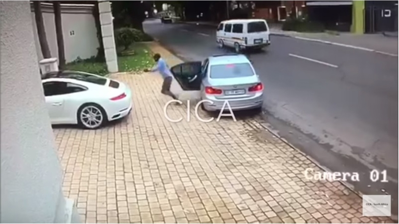 One of the most watched YouTube videos in SA features a Porsche driver outwitting armed hijackers in Johannesburg.