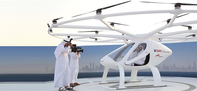 The Autonomous Air Taxi has already been taken for a test flight.