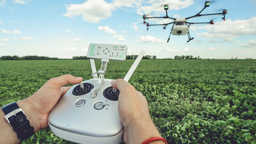 Aeroview Scout uses artificial intelligence and algorithms to help farmers grow healthy trees.
