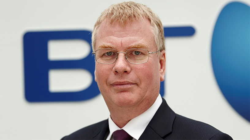 Keith Langridge, vice president of network services at BT.